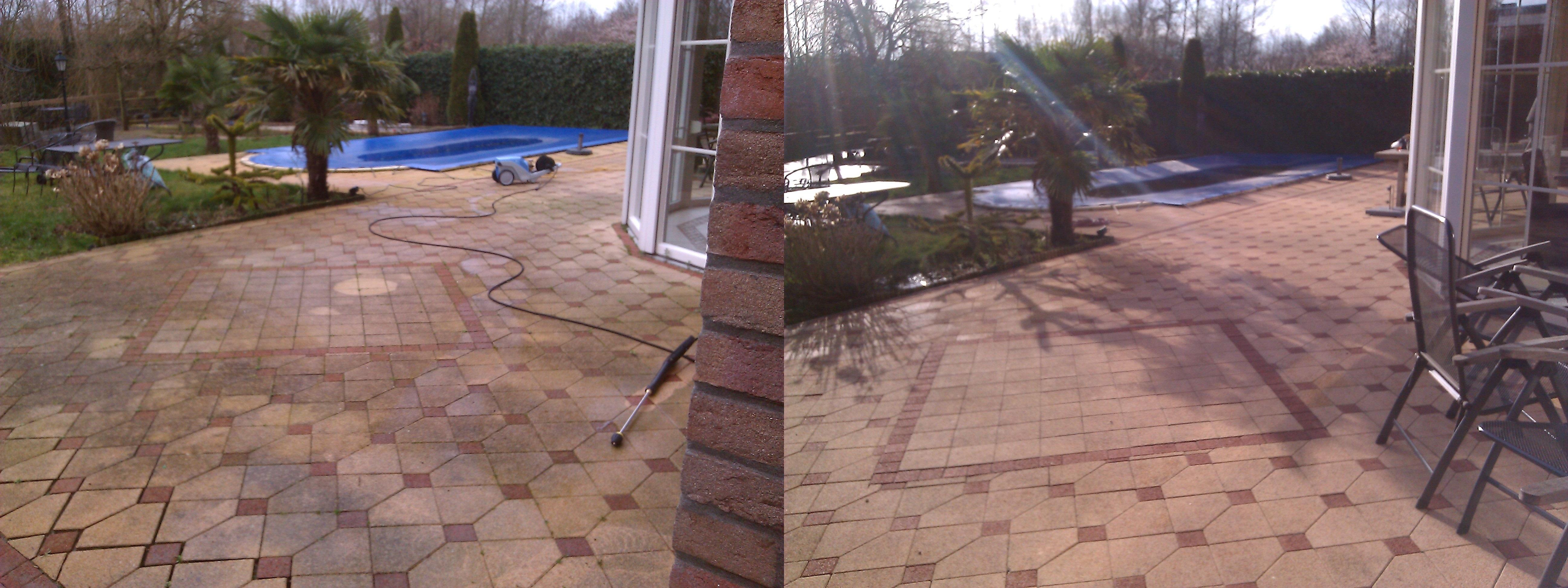 tuintegels schoonmaken wolf cleaning service On tegels tuin schoonmaken